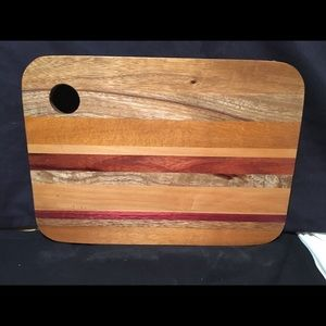 Cutting board / wood serving plate